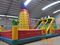 GF-16 inflatable funland with climbing